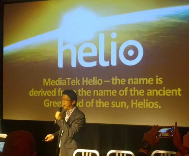 Mediatek shows how its new MT6797 Helio 20 compares to the