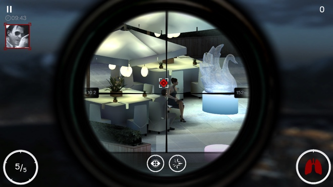 Hitman: Sniper' for iOS and Android game review on
