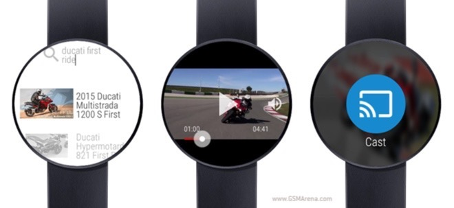 Seriously, there is a YouTube player app for Android Wear