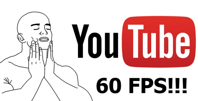 The YouTube mobile app now offers 60fps video streaming