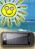 Samsung E1107 Solar Guru is the first solar powered phone on sale