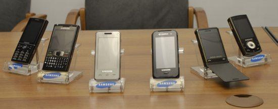 New Samsung phones revealed