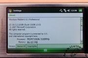 Xperia X1 runs on WinMo 6.1