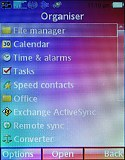 Sony Ericsson P5 screenshot