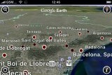 Google Earth on Apple iPhone