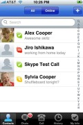 Skype for Apple iPhone 3G