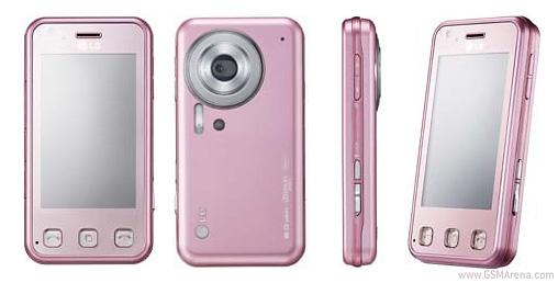 LG KC910i Renoir in Pink
