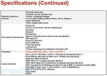 Nexus One specifications