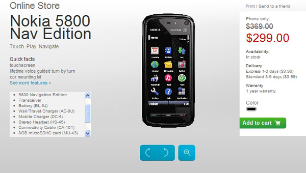Nokia 5800 navigation edition video clips.