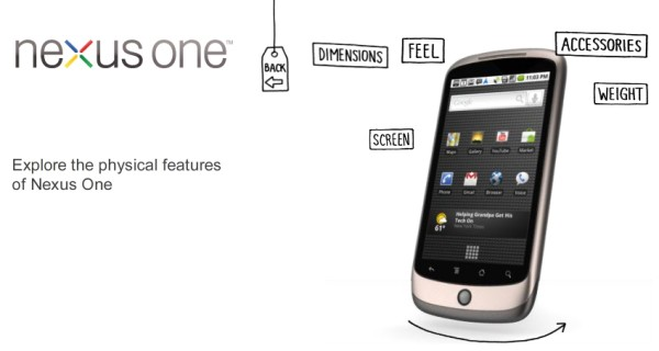 Google Nexus One now available