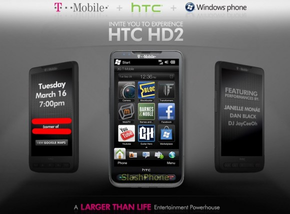 HTC HD2 launches on T-Mobile by the end of the month