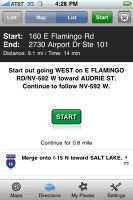 MapQuest 4 Mobile iPhone
