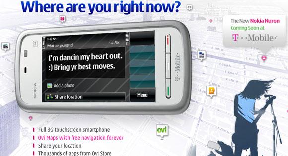 Nokia 5230 Nuron is headed to T-Mobile USA, free SatNav in