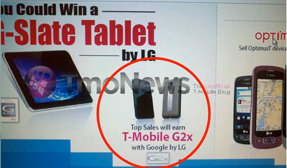 T-Mobile G2x (LG Optimus 2X)