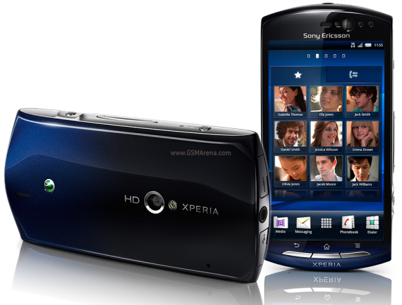 Sony Ericsson XPERIA Neo in UK on 19 April