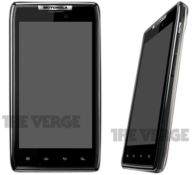 Motorola DROID RAZR with QHD Super AMOLED display surfaces