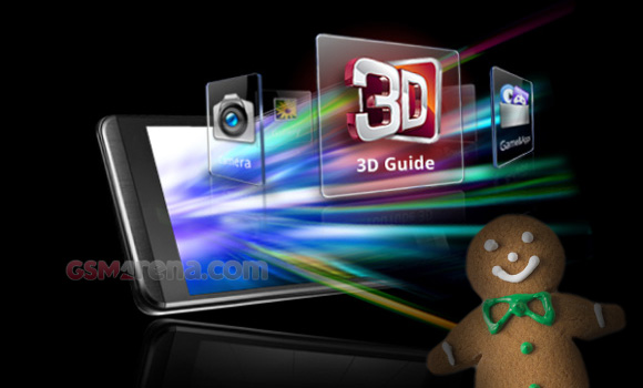 Gingerbread update for LG Optimus 3D coming next week - GSMArena com