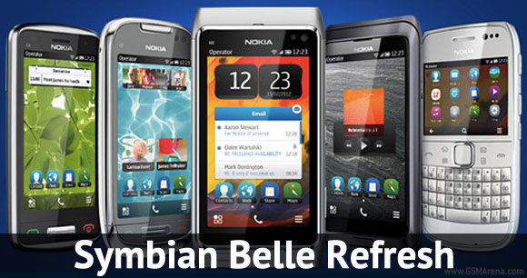 Belle Refresh update hits Nokia N8, E7, C7, C6-01, X7 and