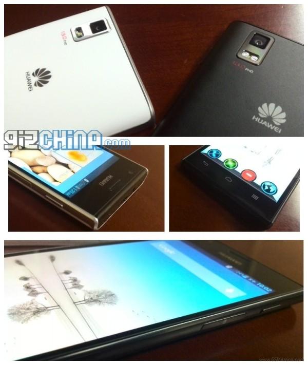 New Huawei Ascend P2 images leak, 13MP camera confirmed - GSMArena