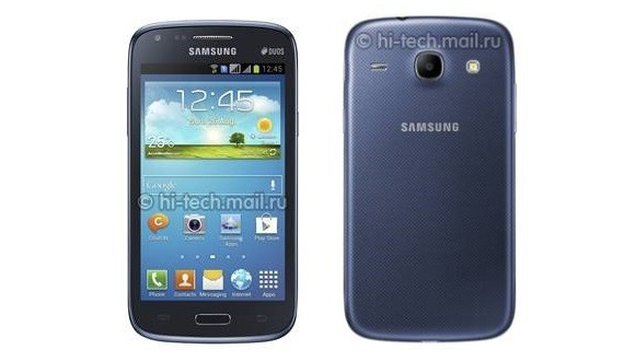 dual sim samsung galaxy core leaks before announcement news. Black Bedroom Furniture Sets. Home Design Ideas