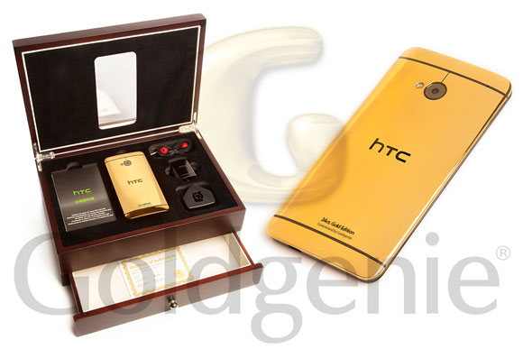 The 24 Carat Gold Edition Of 32gb Htc One Costs 1895 If You Want It To Be Finished In Rose Price Goes Up A Hundred Quid 1995 And