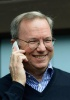 Eric Schmidt shows up with Motorola Moto X