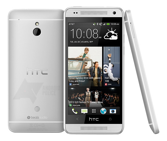 AT&T HTC One mini press shot appears