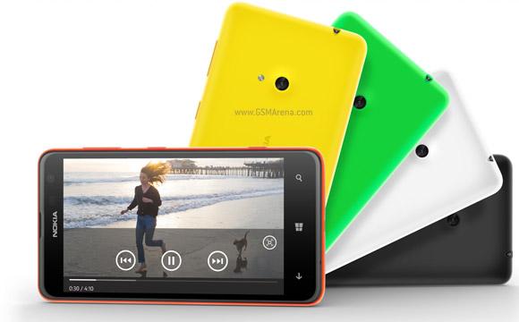 Nokia Lumia 625 brings a 4 7
