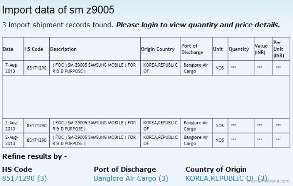 Samsung SM-Z9005 running Tizen OS ships to developers