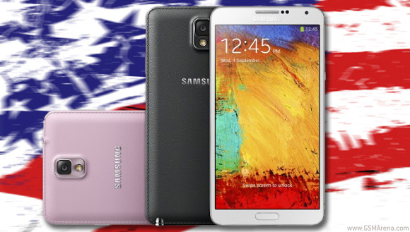 Major US carriers announce Note 3 pre-order, shipping in October