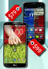 LG G2 and Motorola Moto X get their on contract prices slashed