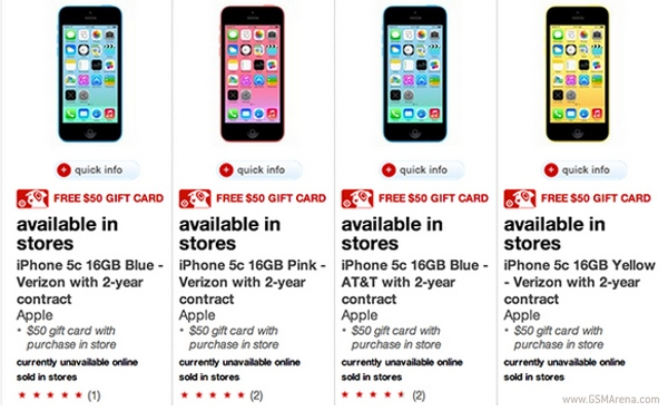 iphone 5s for sale at t target promo drops iphone 5s and 5c prices by 50 17468