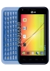 LG Optimus F3Q with sliding QWERTY press image leaks out