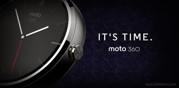 Motorola unveils Android-powered Moto 360 smartwatch ...