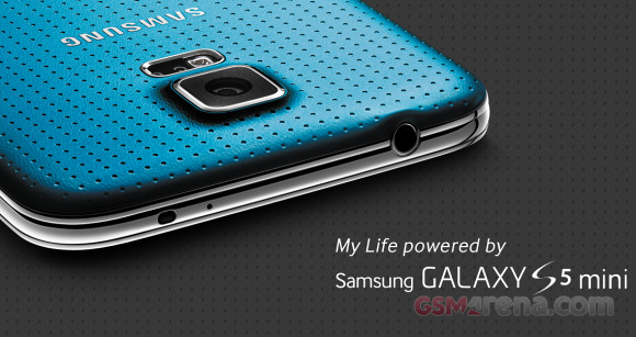 "Samsung Galaxy S5 Mini To Have 4.5"" 720p Display, 8MP"