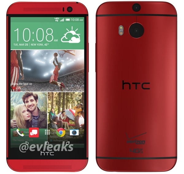 Verizon-bound red HTC One (M8) and Kyocera Brigadier leaked