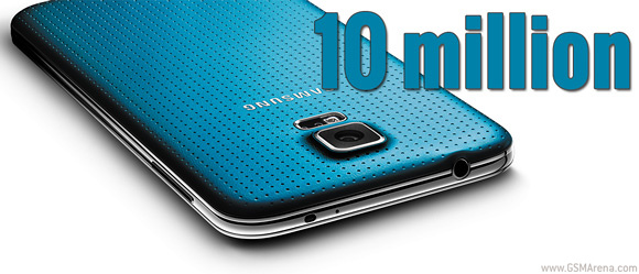 Samsung Galaxy S5 Beats Impressive Sales Record