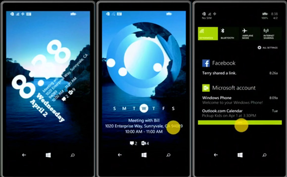 Windows Phone 8 1 new lockscreen to be available soon