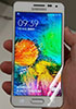 A set of photos shows Samsung Galaxy Alpha in its full glory