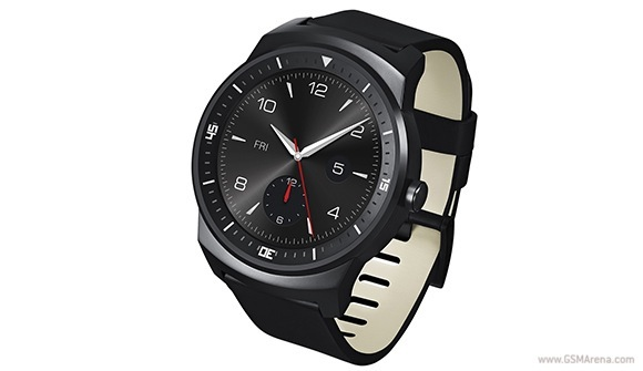 LG G Watch R gets unveiled with round P-OLED display ...