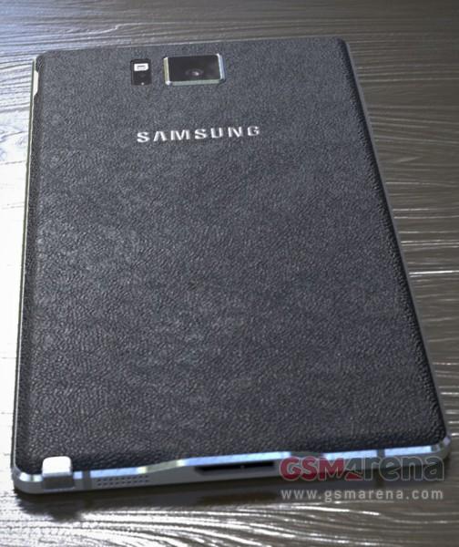 Sforum - Trang thông tin công nghệ mới nhất gsmarena_002 Dung nhan và vỏ hộp Samsung Galaxy Note 4 bị rò rỉ: màn hình lớn, viền mỏng, gia công bằng nhựa, độ phân giải 2K,...