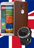 Moto X and Moto G available in the UK today, Moto 360 in October