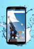 The Nexus 6 is water resistant like the Moto X (2014)