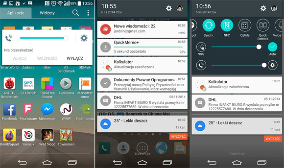 Screenshots Of Android 5 0 Lollipop For Lg G3 Hit The Web