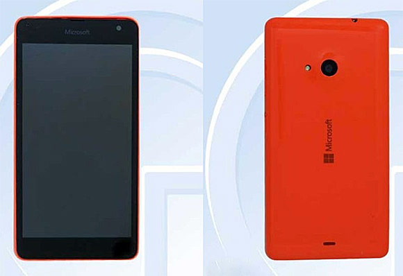 Lumia RM 1090 Appears With Microsoft Branding