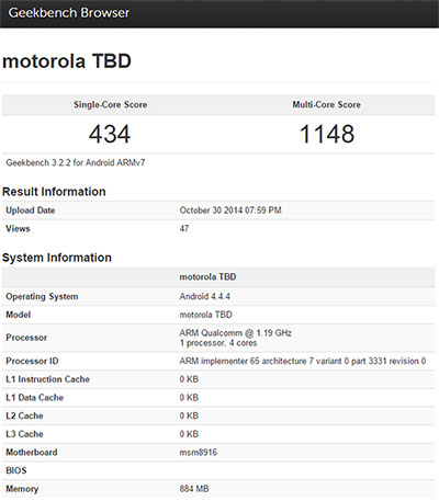 New Moto smartphone with Snapdragon 410 now in testing ...