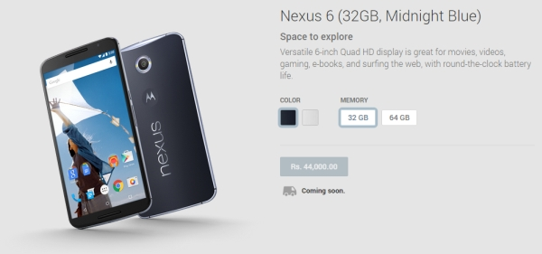 Nexus 6 now available on the Play Store in 12 additional ...