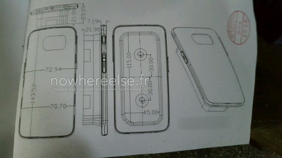 Samsung Galaxy S6 dimensions confirmed, port layout too - GSMArena.com news