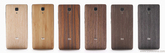 best website fbb6b 7779c Wood back covers for Xiaomi Mi 4 now available in China - GSMArena ...