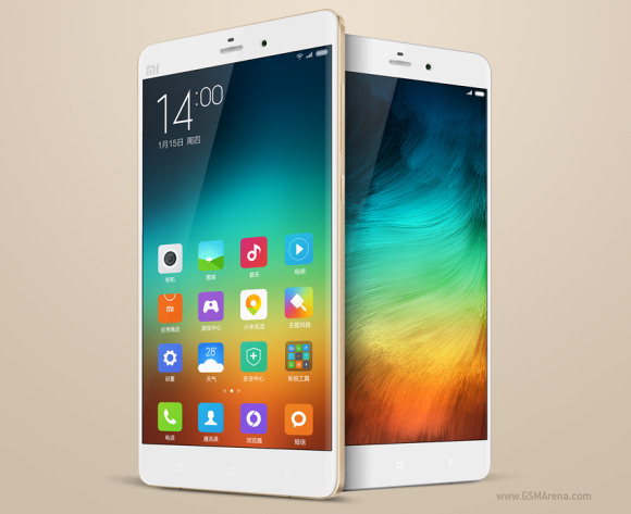 Xiaomi Mi Note Pro is official with QHD display